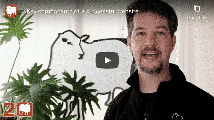 build a successful website
