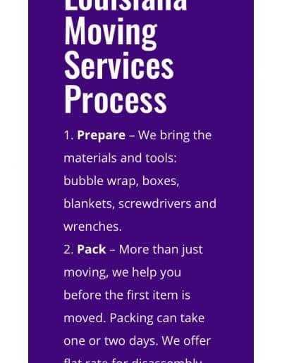 shows service process