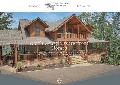 Lomonaco Log Homes Website