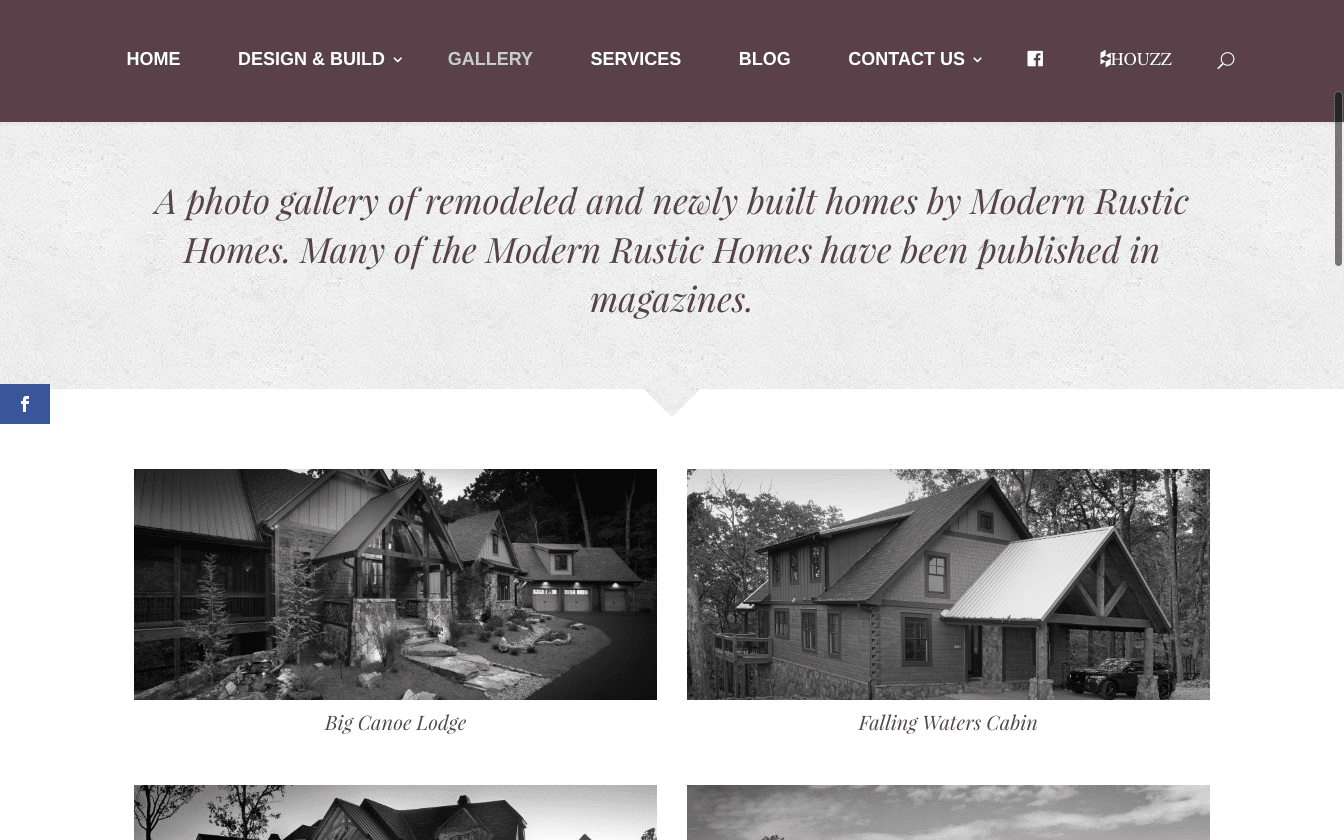 Gallery of homes built