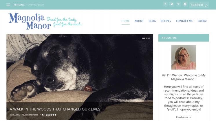 slideshow of latest blog posts