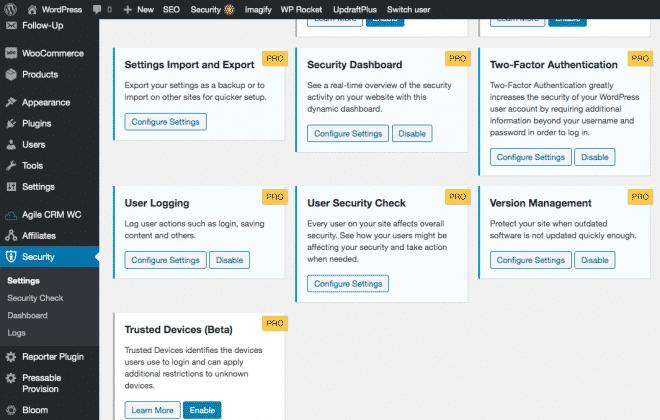 under Version management click configure settings